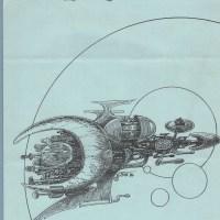 DILLINGER RELIC #49 sf fanzine ARTHUR D. HLAVATY Steven Fox TEDDY HARVIA 1986