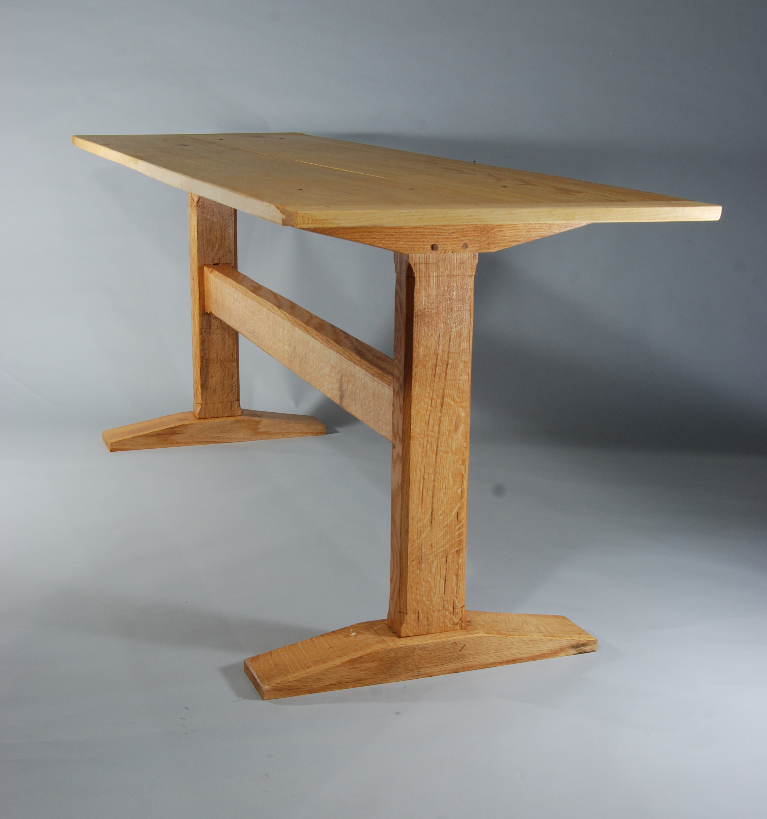 mission style dining room table plans