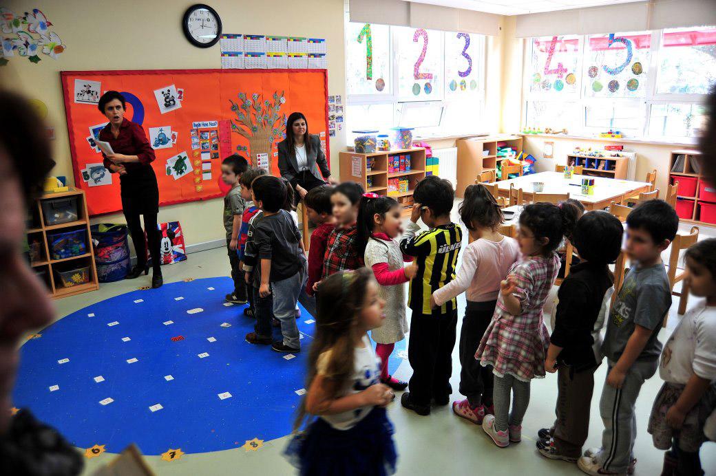 Kindergarten in Istanbul