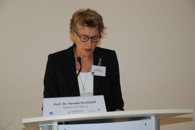 Grußwort der EH Freiburg - Prof. Renate Kirchhoff