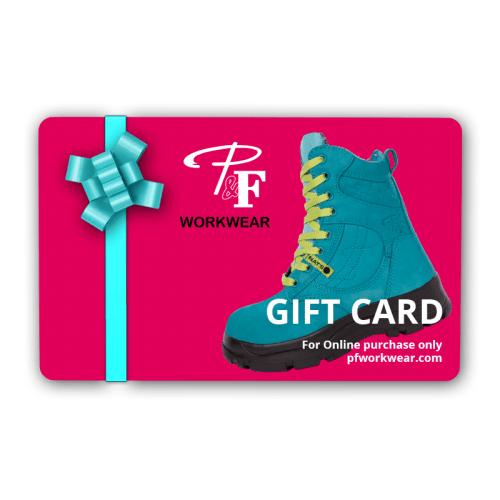 P&F Workwear Gift Card
