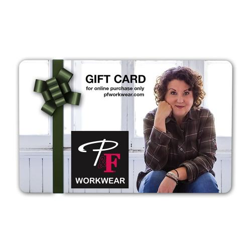 P&F Workwear Virtual Gift Card V1