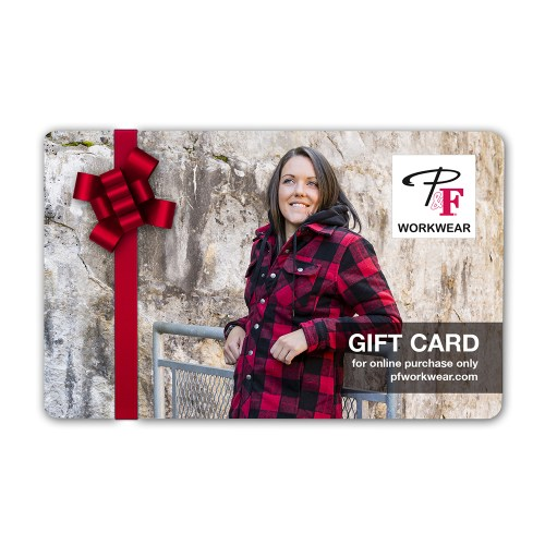 P&F Workwear Virtual Gift Card V16