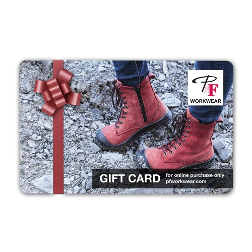 P&F Workwear Virtual Gift Card V19