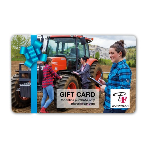 P&F Workwear Virtual Gift Card V22