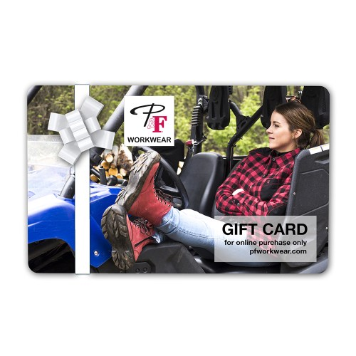 P&F Workwear Virtual Gift Card V23