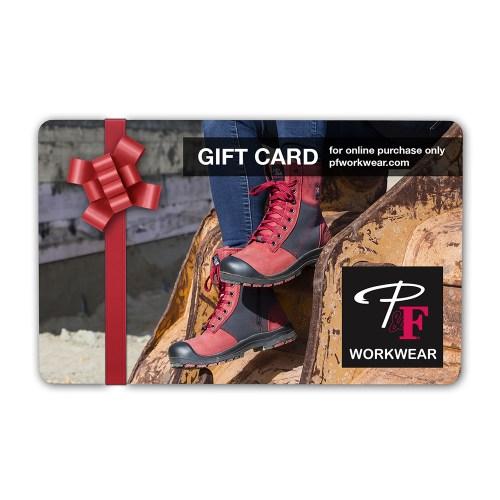 P&F Workwear Virtual Gift Card V24
