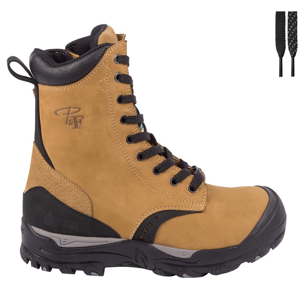b9944951d96 Women's 8″ waterproof safety work boots with zipper – PF648