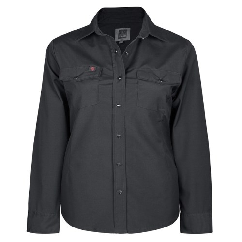 stretck work shirt for women plus sizew black