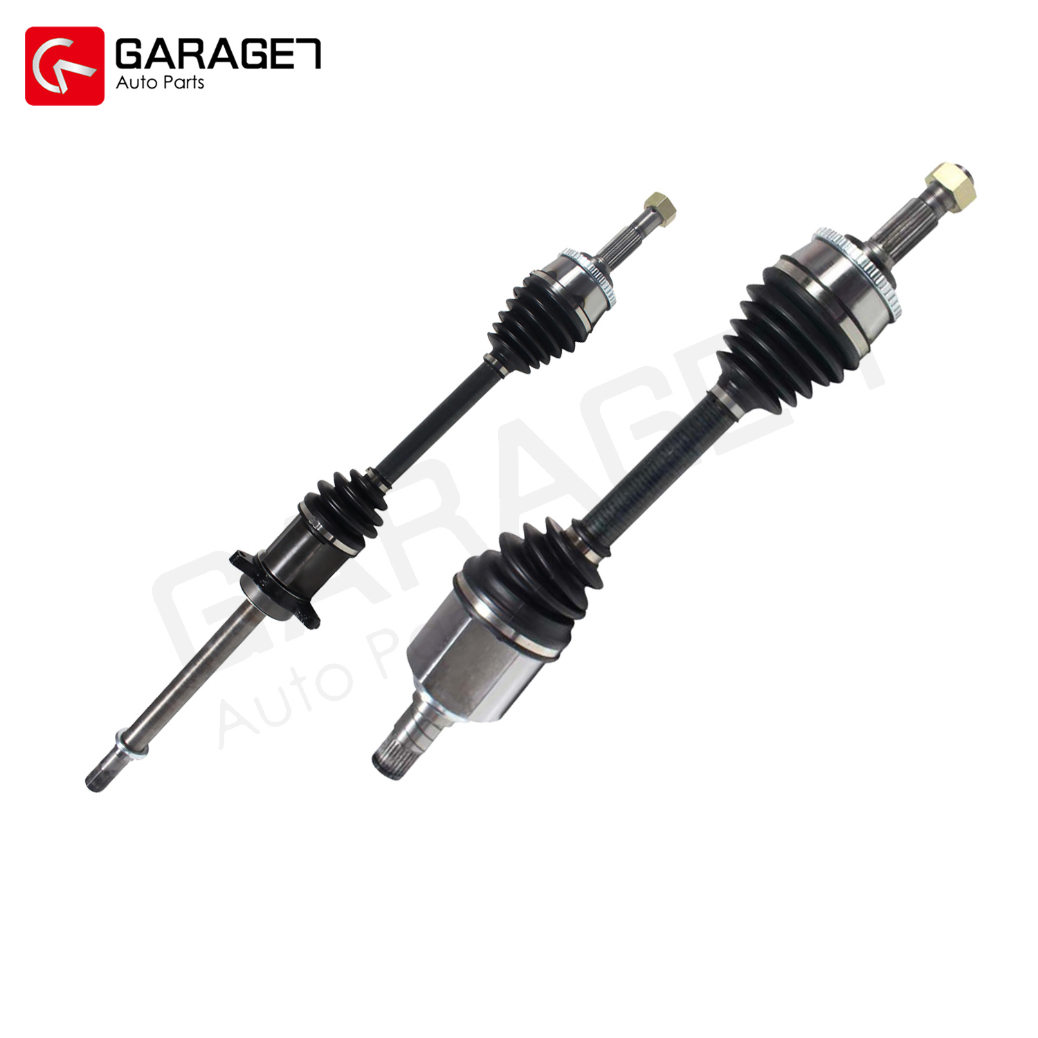 Front Pair Cv Axle Joint Assembly For Nissan