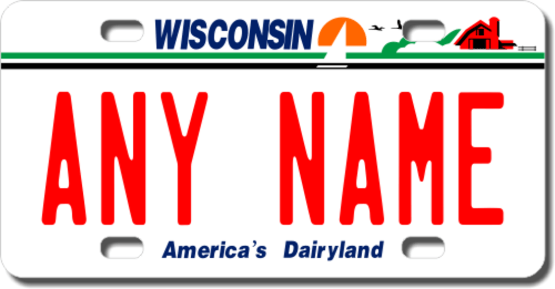 Personalized Custom License Plates