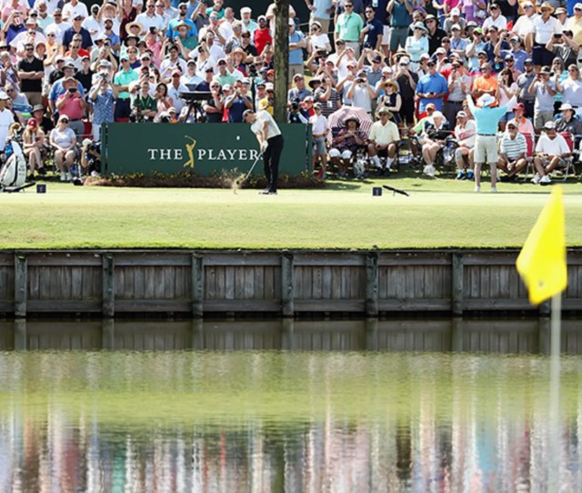 Round  Of The Players Championship Takes Place Today From Tpc Stadium Course Jamie
