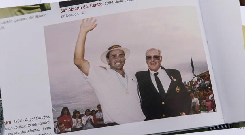 Ángel Cabrera y un recuerdo de su primera victoria en este evento en 1994