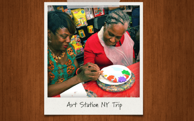 Trip to the Art Station in Brooklyn