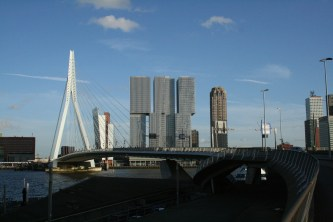 First look at Erasmus Bridge