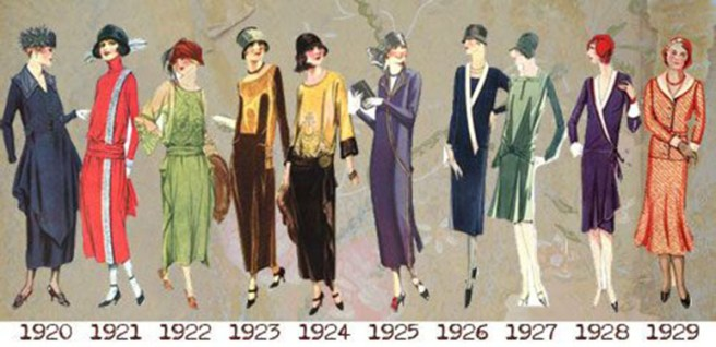 1920s day dresses