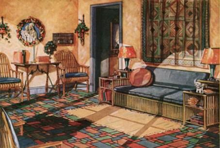 1920s room