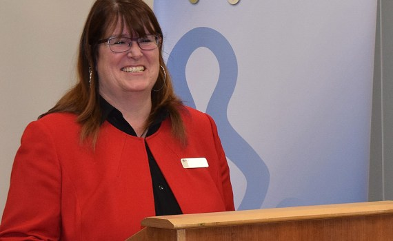BCGEU president Stephanie Smith