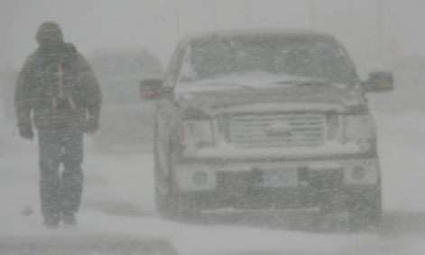 Snowfall warning issued for Prince George