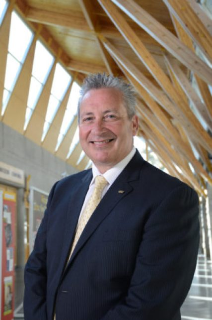 UNBC President Daniel Weeks