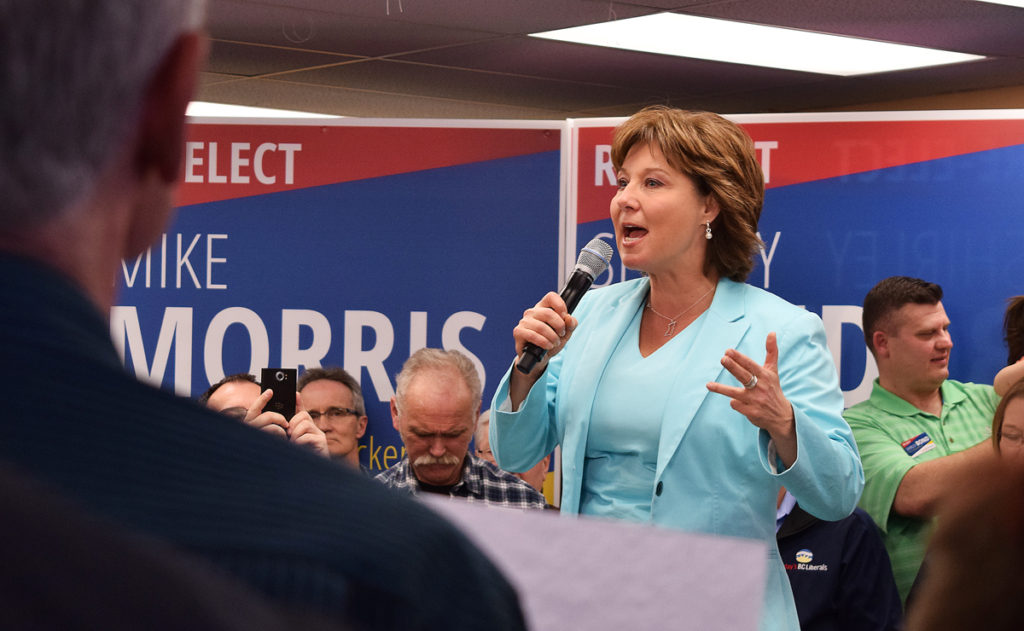 Christy Clark announced today that she will step down as Liberal leader and resigning as MLA for Kelowna West. Rich Coleman will take over as interim leader.
