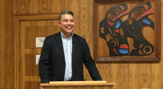 Carrier Sekani Tribal Chief Terry Teegee