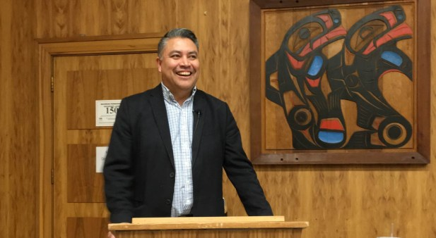 Carrier Sekani Tribal Chief Terry Teegee