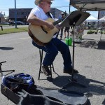 There was entertainment at the Farmer's Markets in downtown Prince George Saturday. Bill Phillips photo