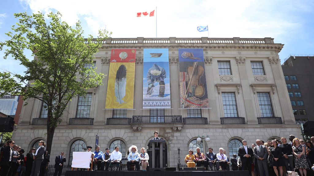 Prime Minister Justin Trudeau renames National Aboriginal Day to National Indigenous Peoples Day. Government of Canada photo