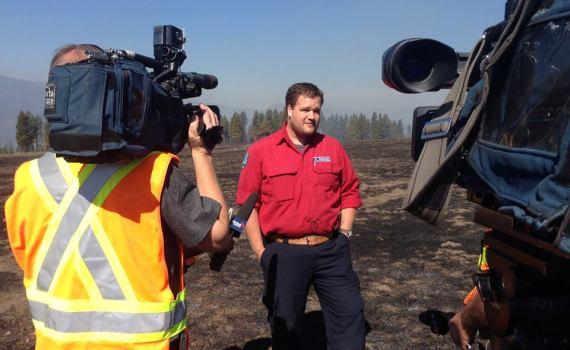Kevin Skrepnek. BC Wildfire Service photo