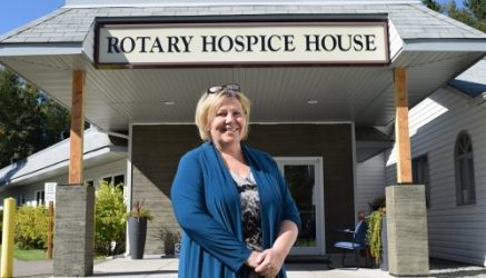 Prince George Hospice executive director Donna Flood. Bill Phillips photo