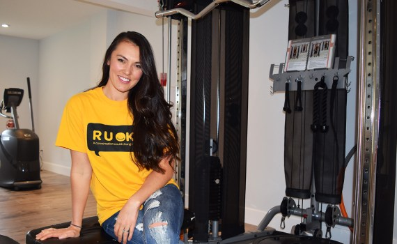 Personal trainer Tasha Wall wants Prince George residents to tell their stories to help improve self-esteem. Bill Phillips photo