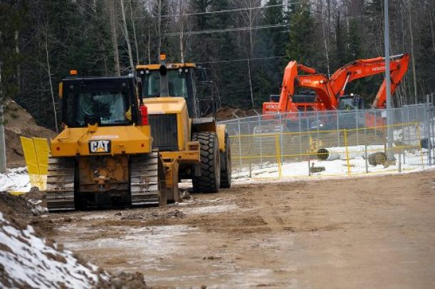 Thursday's operation is part of a major infrastructure project which will enhance the reliability of the city's water system and improve water service in the Hart area. City of Prince George photo