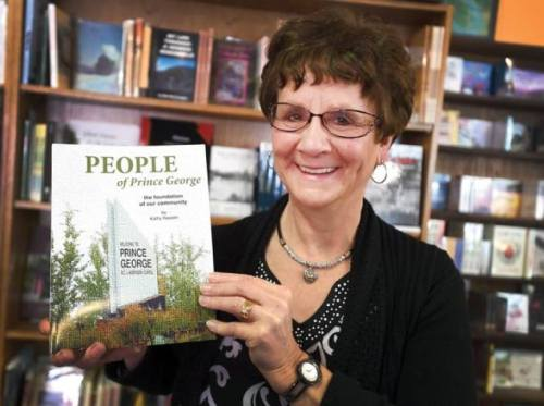 Kathy Nadalin will be signing copies of her book People of Prince George at Books & Co. Friday.