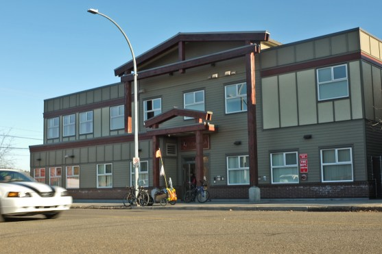 Ketso Yoh, a men's shelter at 140 Quebec Street downtown also benefitted from the city's incentive program. City of Prince George photo