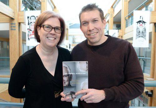 UNBC associate professor Dr. Tracy Summerville and Dr. Jason Lacharite. UNBC Facebook photo