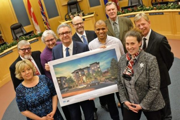 Prince George city council has approved a partnership agreement with A&T Project Developments that will allow the company to construct a major condominium and parkade development downtown. City of Prince George photo