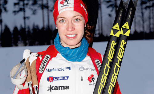 Megan Tandy. Canadian Olympic Team photo