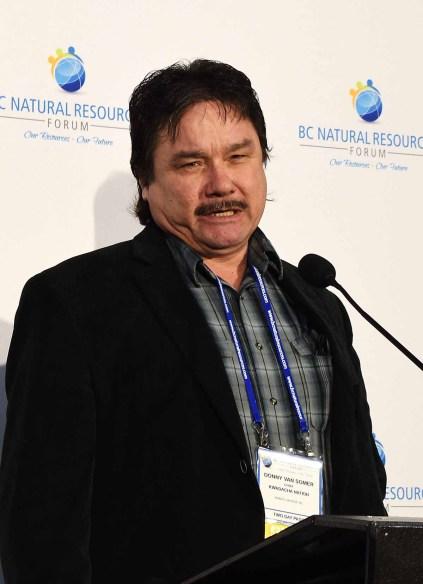 Kwadacha First Nation Chief Danny van Somer. Bill Phillips photo