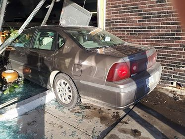 Workers at the Prince George Hospice Resale Store in College Heights got a rude surprise Thursday afternoon when a car crashed through the front door. There were no injuries. The store will be closed while the door gets fixed.