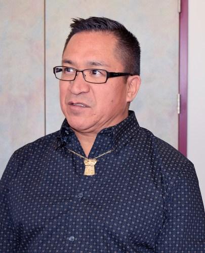 Kitselas First Nation Chief Joe Bevan.