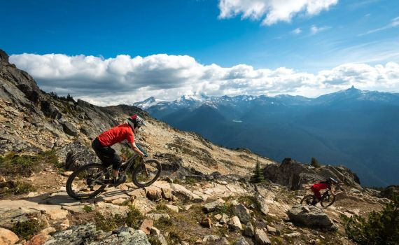 Top of the World. Tourism Whistler - Mike Crane