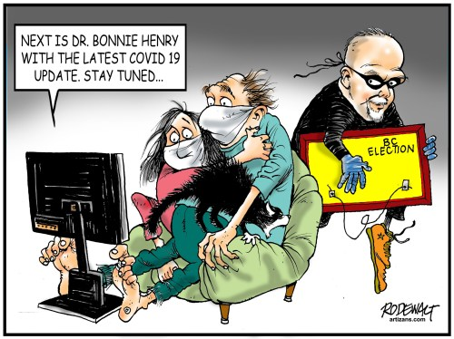 Horgan steals election