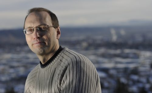 University of Northern British Columbia Geography Professor Dr. Greg Halseth. UNBC photo