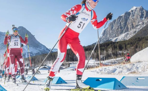 Prince George's Megan Tandy, a three-time Olympian, won the Canadian trials last week in Canmore, Alta., earning her a spot on the senior national biathlon team. Instagram photo
