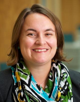 UNBC Associate Geography Professor Dr. Zoë Meletis
