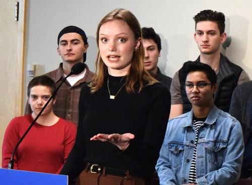 UNBC environmental engineering student Lucia Dekleer. Bill Phillips photo