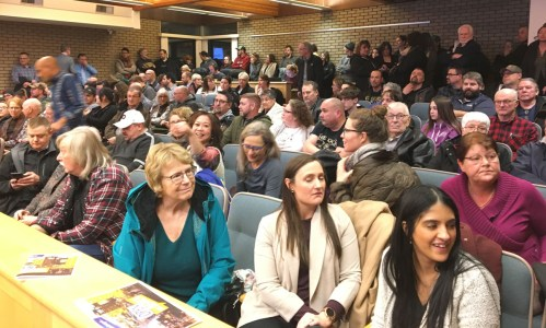 Council to strike ad hoc committee to deal with downtown social issues after 150 attend public meeting