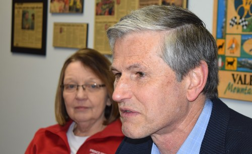 Liberal leader Andrew Wilkinson speaks following likely election loss