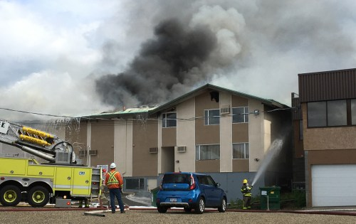 Man charged in connection with EconoLodge fire that killed three